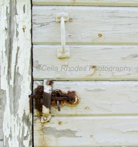 Door Hardware, Rusted