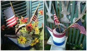 Patriotic Duo, Hansen's Grove    PicMonkey Collage