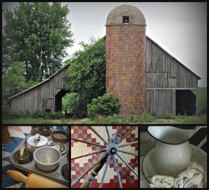 4 Images, Americana, Quilt Pic, Sat-40, Watermark             Ribbet collage
